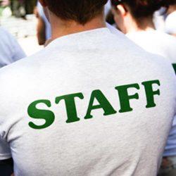 Staff summer camp