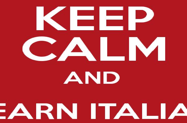 Keep Calm And Learn Italian