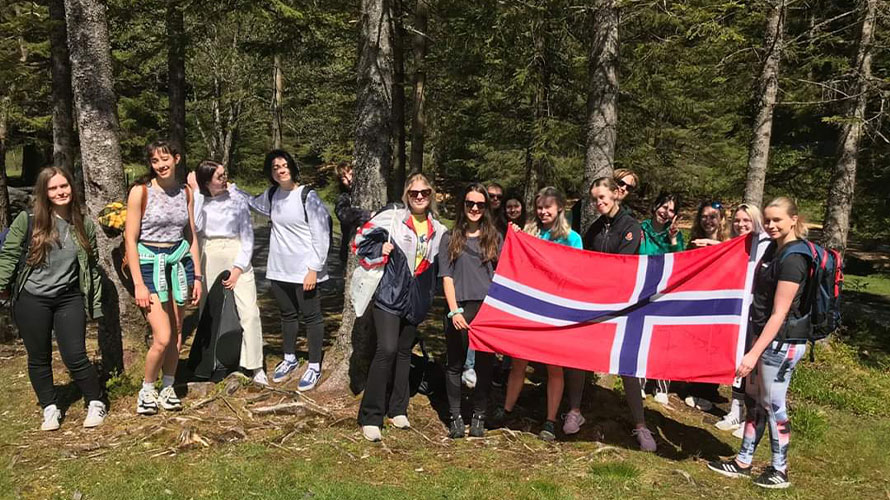Anno all'estero Exchange student Norvegia