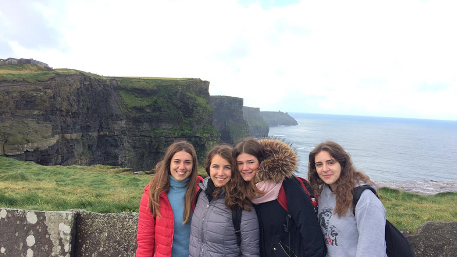 Anno all'estero Irlanda Exchange student