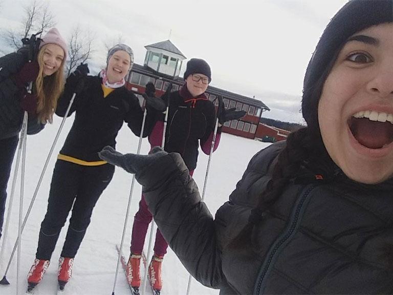 Exchange student Svezia