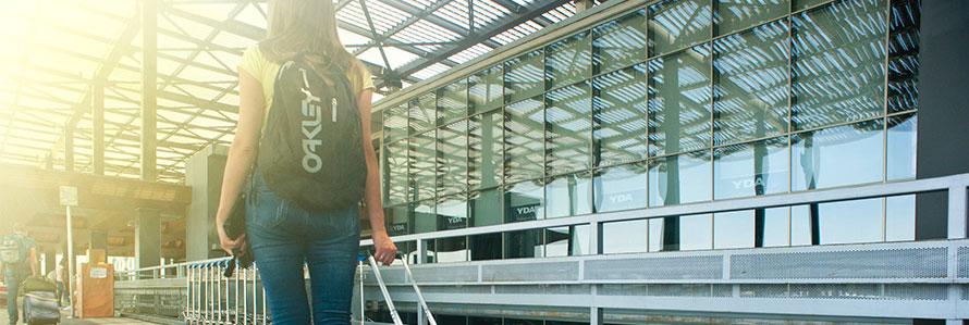 Anno all'estero valigia
