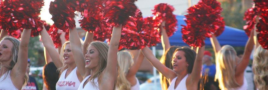 Cheerleader Anno all'Estero