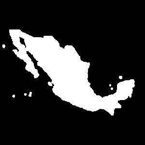 Messico cartina